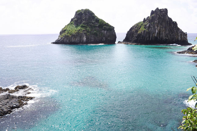 The Two Brothers Hill in Fernando de Noronha, Brazil.