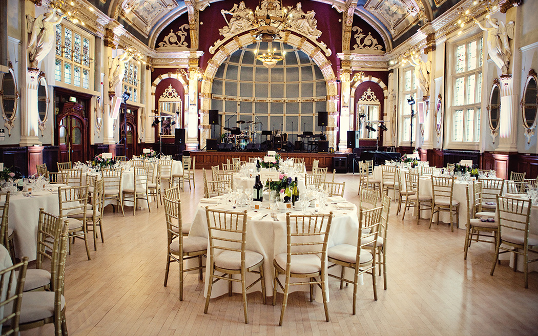 London Wedding Venues White Building