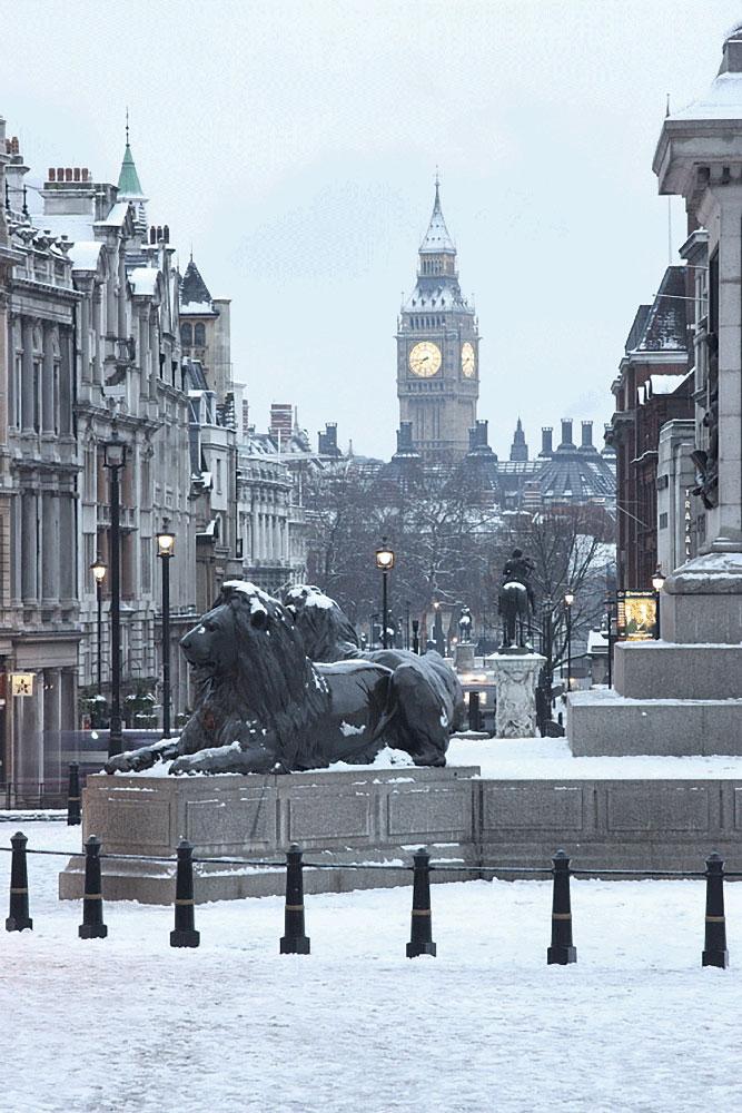 """Fotografía: """"Trafalgar Square"""" - Servicios"""