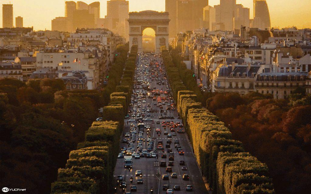 """Fotgrafía: """"Champs Elysees"""" - Servicios"""
